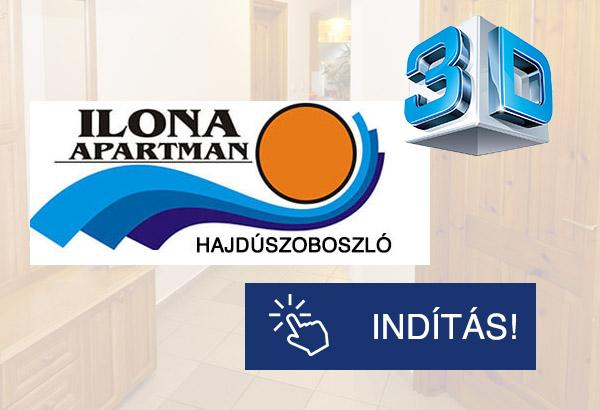 Ilona Apartman 3D-ben