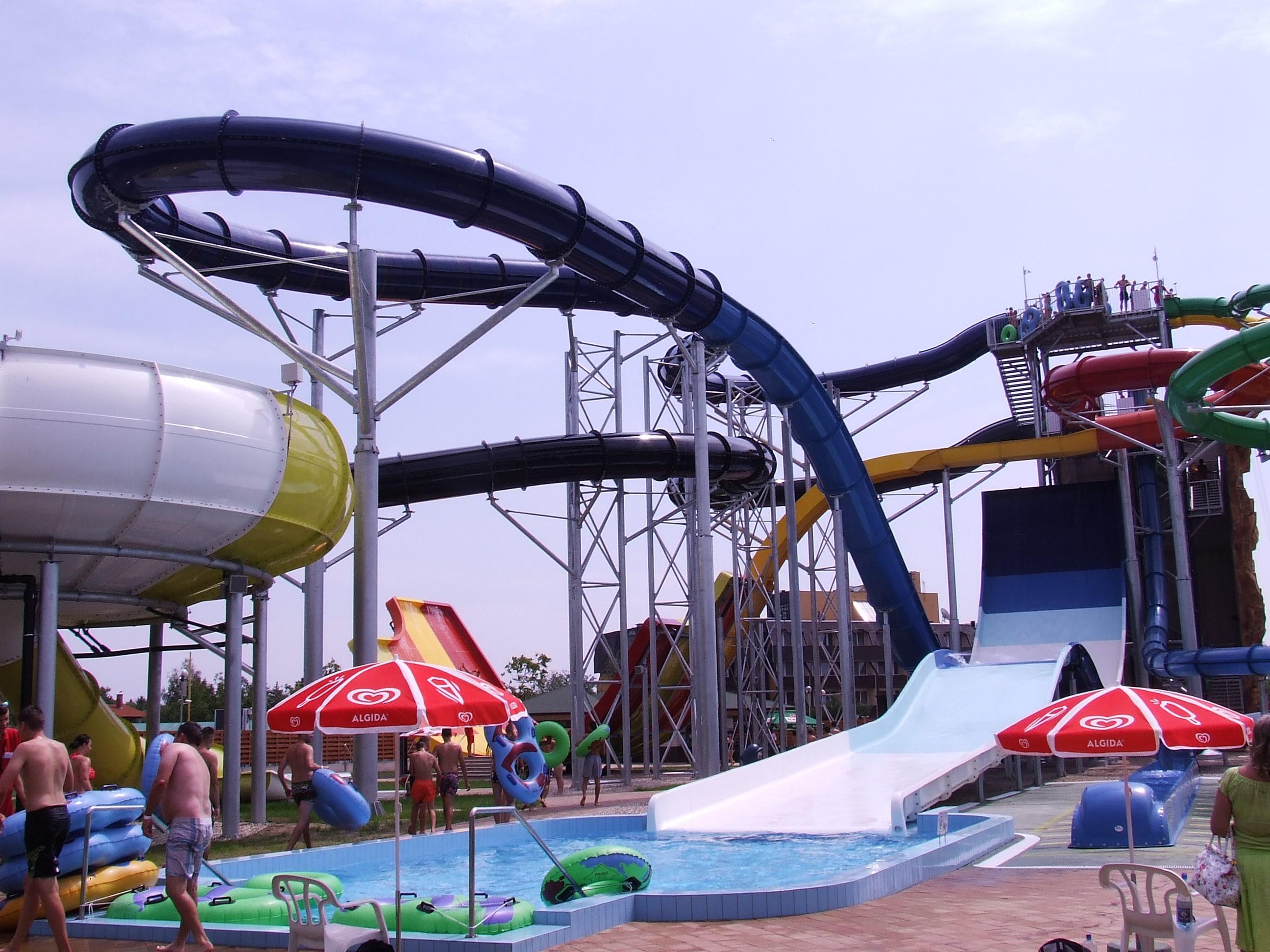 Aquapark extrém zóna Hajdúszoboszlón