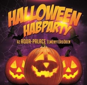 A gyógyfürdő után este jöhet a Halloween-buli - habparty-val.