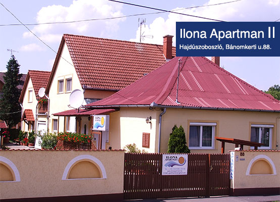 Hajdúszoboszló olcsó apartmanok - Ilona Apartman 2