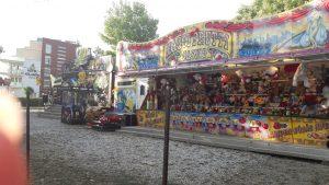 Játszótér és vidámpark Hajdúszoboszlón - minividámpark az Aqua Palace előtt