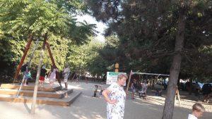 Játszótér és vidámpark Hajdúszoboszlón - játszótér a Szent István Parkban