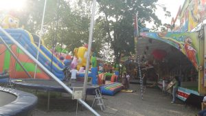 Játszótér és vidámpark Hajdúszoboszlón - játszópark a Szabadtéri Színpad mellett