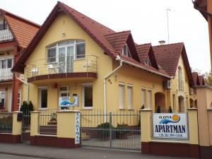 Gyógyfürdő - szemben az Ilona Apartman I.